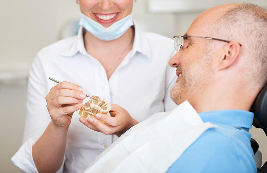 Vorsorgeuntersuchung Zahnarzt Darmstadt